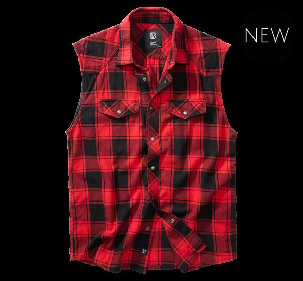 Checkshirt sleeveless