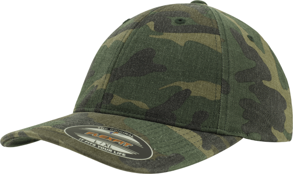 Flexfit Garment Washed Camo Cap
